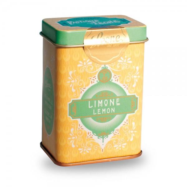 Leone Pastillen Zitrone 45 g Pastiglie Retrochic Dose online kaufen bei Kaffee Rauscher