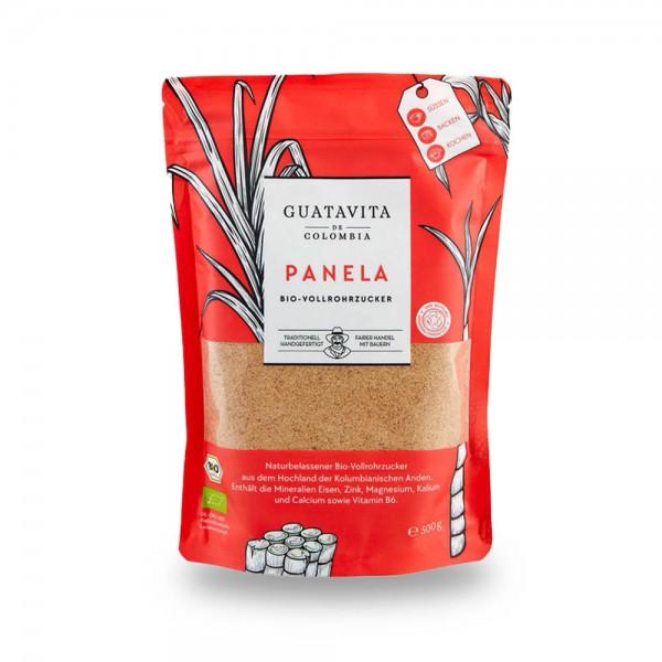 Guatavita Panela Vollrohrzucker aus Kolumbien 500g online kaufen bei Kaffee Rauscher