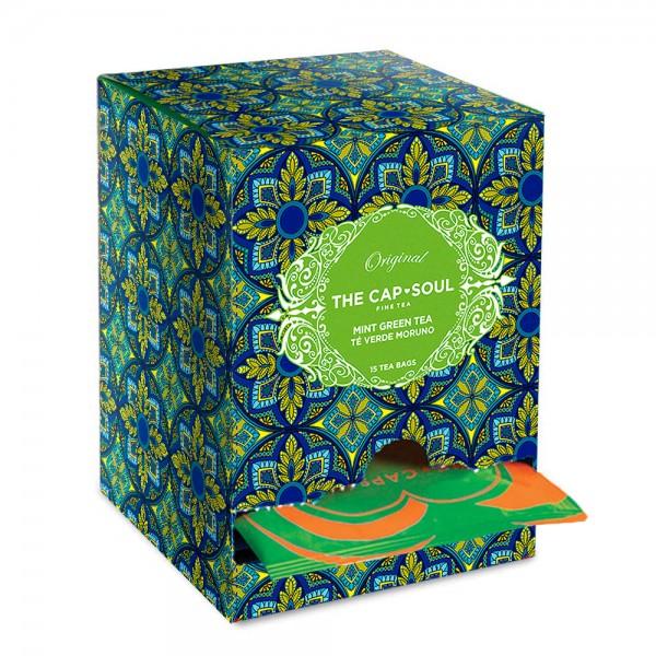 The CapSoul Mint Green Tea - 15 Teebeutel online kaufen bei Kaffee Rauscher