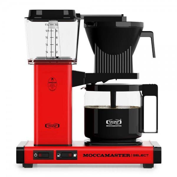 Moccamaster KBG Rot Filterkaffeemaschine