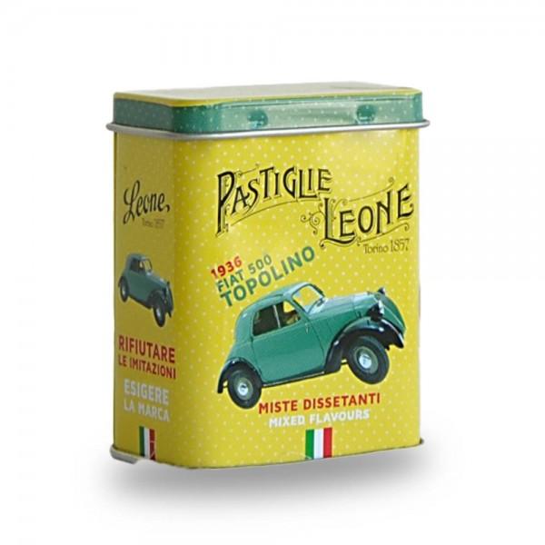 Leone Pastillen gemischte Früchte 30 g Pastiglie Topolino Dose online kaufen bei Kaffee Rauscher