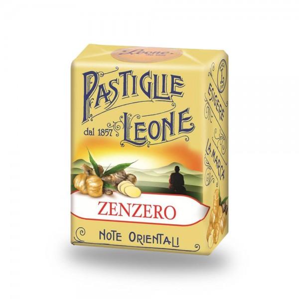 Leone Pastillen Ingwer 30 g - Pastiglie Zenzero online kaufen bei Kaffee Rauscher