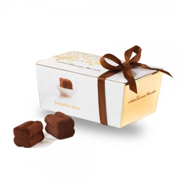 Antica Torroneria Tartufini dolce nero Schokoladentrüffel 50g online kaufen bei Kaffee Rauscher