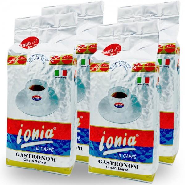Ionia Gastronom Espresso 4 x 1.000g Bohnen online kaufen bei Kaffee Rauscher