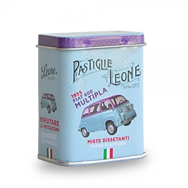 Leone Pastillen gemischte Früchte 30 g Pastiglie Multipla Dose online kaufen bei Kaffee Rauscher