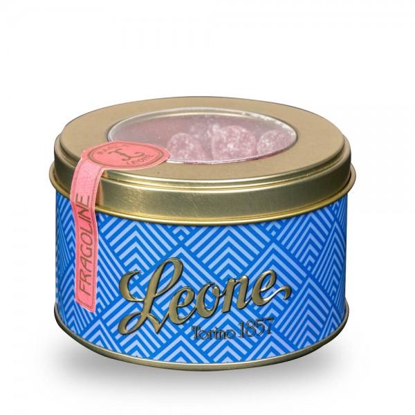 Leone Geleefrüchte - Erdbeer - 150 g Dose online kaufen bei Kaffee Rauscher