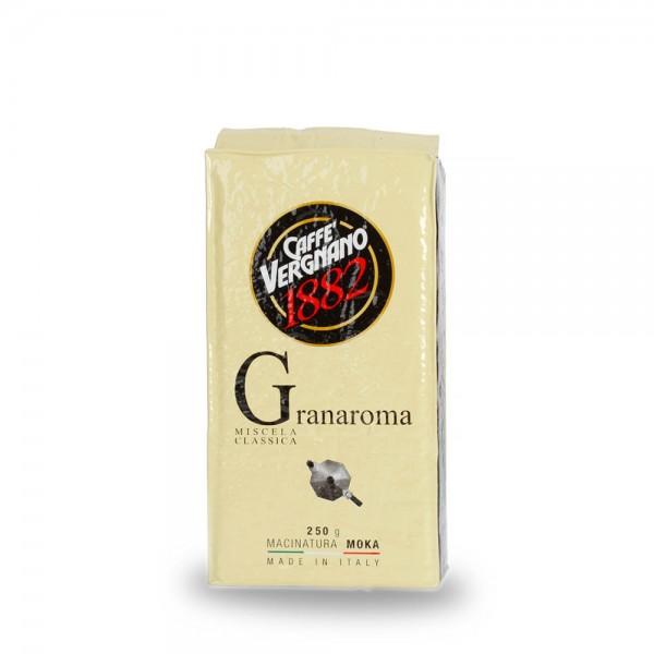 Caffè Vergnano 1882 Granaroma Espresso 250g gemahlen