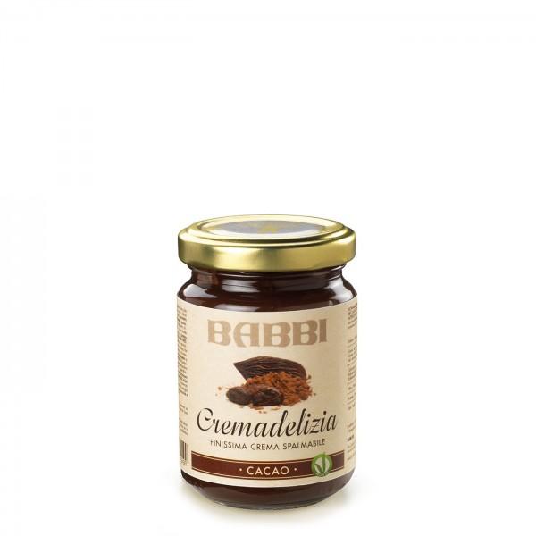 Babbi Cremadelizia Cacao Brotaufstrich 150 g online kaufen bei Kaffee Rauscher
