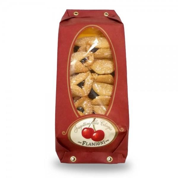 Flamigni Fagottini alla Ciliegia mit Kirsch-Füllung 200g online kaufen bei Kaffee Rauscher
