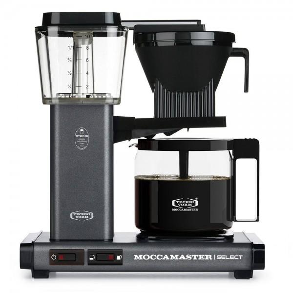 Moccamaster KBG Stone Grey Filterkaffeemaschine online kaufen bei Kaffee Rauscher