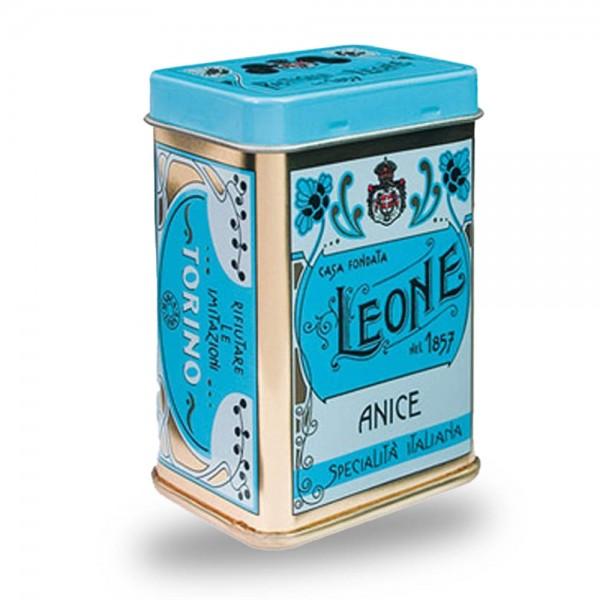 Leone Pastillen Anis 45 g Nostalgie-Dose online kaufen bei Kaffee Rauscher
