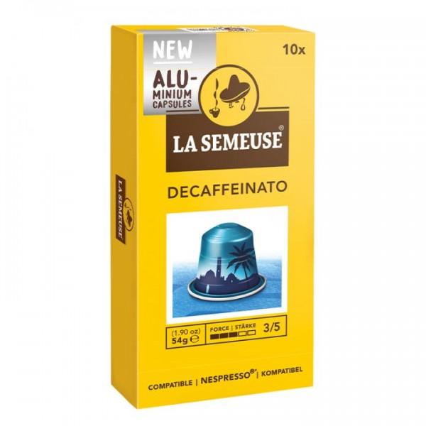 La Semeuse Espresso entkoffeiniert Kapseln für Nespresso®* 10 Stück