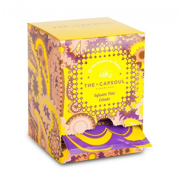 The CapSoul Piña Colada Infusion Früchtetee - 15 Teebeutel online kaufen