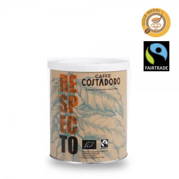 Costadoro Respecto FairTrade Espresso 250g Bohnen online bestellen bei Kaffee Rauscher