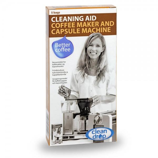 Moccamaster Clean Drop Reinigungsmittel für Filterkaffeemaschinen online kaufen