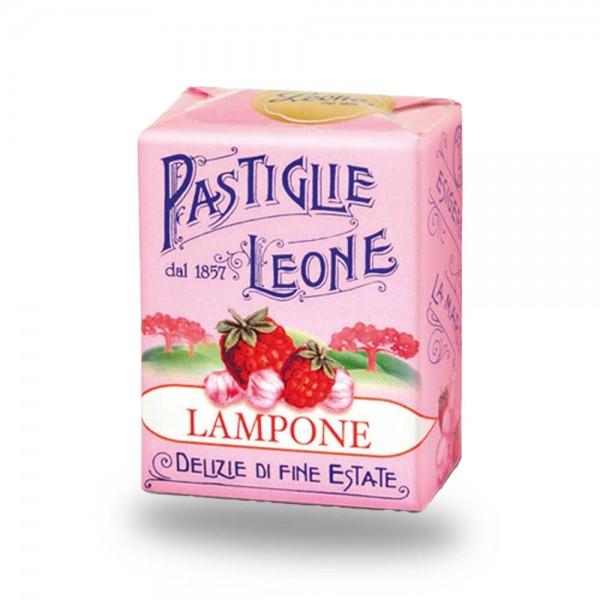 Leone Pastillen Himbeere 30 g - Pastiglie Lampone online kaufen bei Kaffee Rauscher