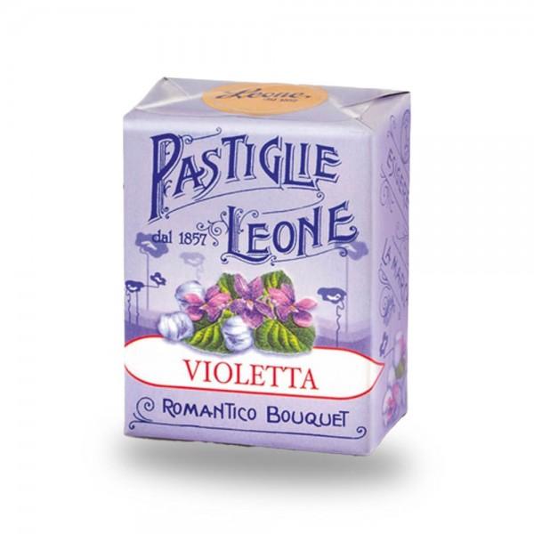 Leone Pastillen Veilchen 30 g - Pastiglie Violetta online kaufen bei Kaffee Rauscher