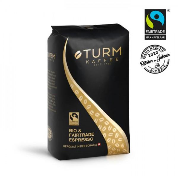 Turm Kaffee Bio & Fairtrade Espresso 1.000g Bohnen online kaufen