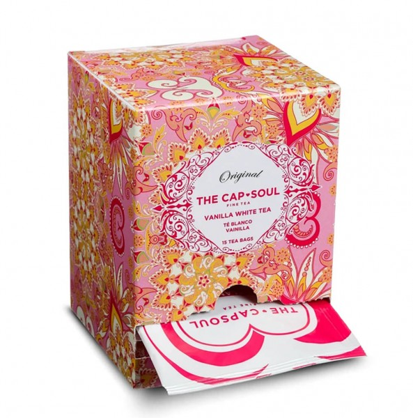 The CapSoul Vanilla White Tea - 15 Teebeutel online kaufen bei Kaffee Rauscher