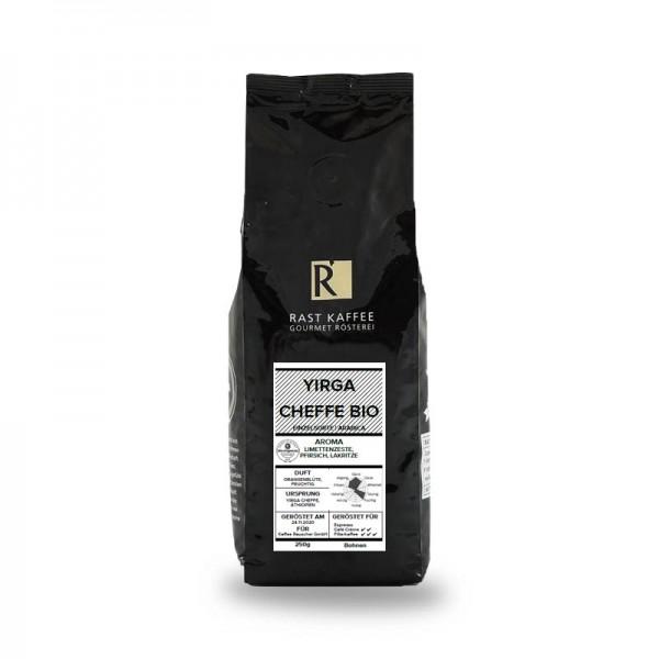 Rast Kaffee Yirgacheffe 250g Bohnen online kaufen bei Kaffee Rauscher