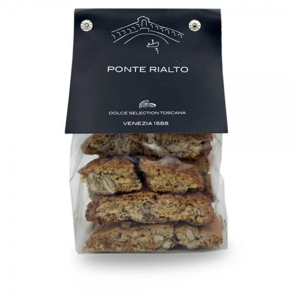 Ponte Rialto Cantucci alla Mandorla - mit Mandeln 200 g online kaufen bei Kaffee Rauscher