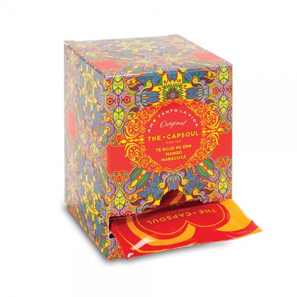 The CapSoul Mango Maracuja Pu Erh Tee - 15 Teebeutel online kaufen bei Kaffee Rauscher