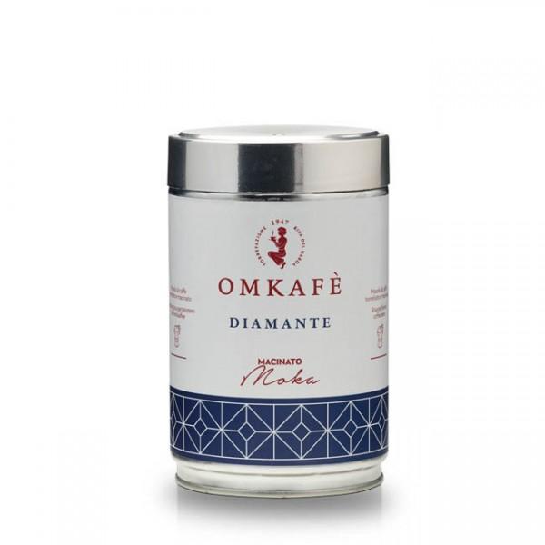 Omkafé Diamante Espresso 250g gemahlen Herdkocher online kaufen