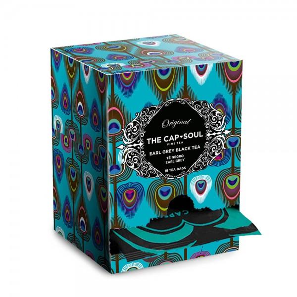 The CapSoul Earl Grey Blue Flower - 15 Teebeutel online kaufen bei Kaffee Rauscher