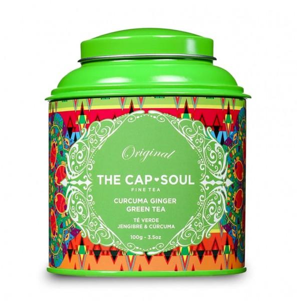The CapSoul Curcuma Ginger Green Tea - 100 g lose online kaufen bei Kaffee Rauscher