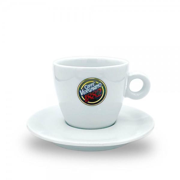 Caffè Vergnano 1882 Cappuccino-Tasse plus Untertasse online kaufen