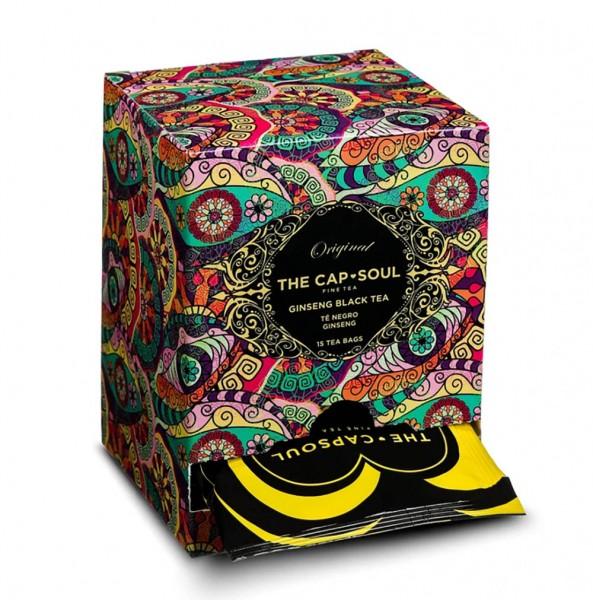 The CapSoul Ginseng Black Tea - 15 Teebeutel online kaufen bei Kaffee Rauscher