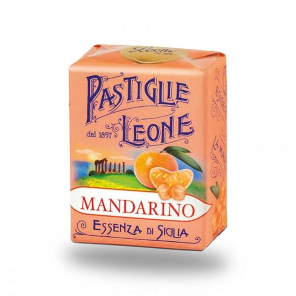 Leone Pastillen Mandarine 30 g - Pastiglie Mandarino online kaufen bei Kaffee Rauscher