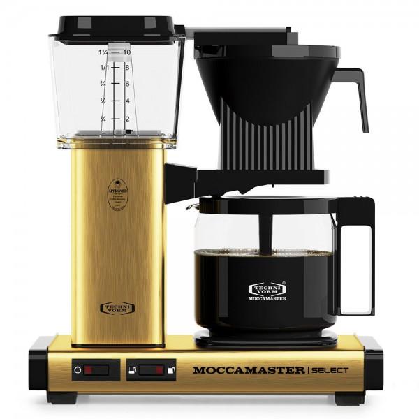 Moccamaster KBG Brushed Brass Filterkaffeemaschine online kaufen
