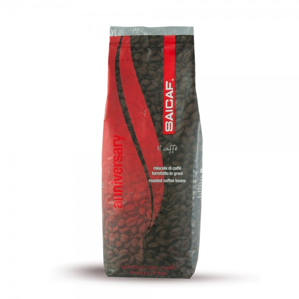 Saicaf Anniversary red 1.000g Bohnen
