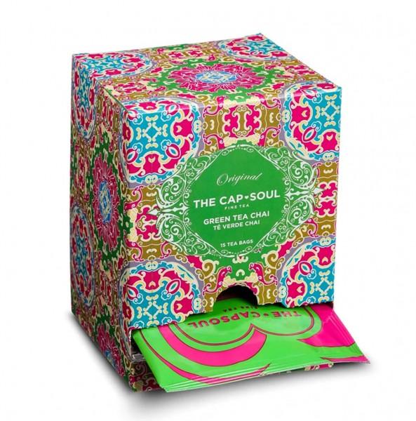 The CapSoul Chai Green Tea - 15 Teebeutel online kaufen bei Kaffee Rauscher