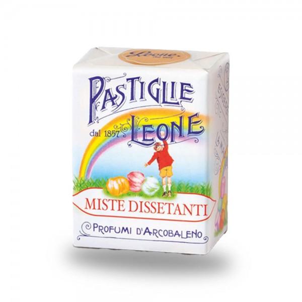 Leone Pastillen gemischte Früchte 30 g - Pastiglie Miste Dissetanti