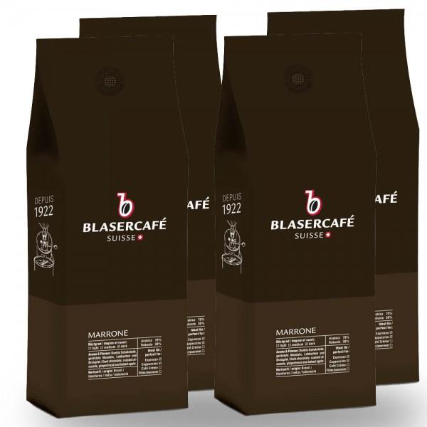 Blasercafé Marrone Espresso-Mischung 1.000g Bohnen