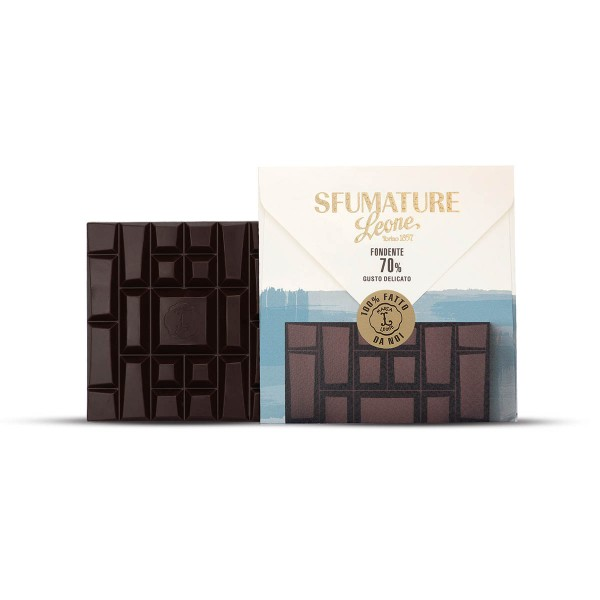 Leone Sfumature Bitterschokolade 70% Kakaoanteil 75 g mild online kaufen bei Kaffee Rauscher