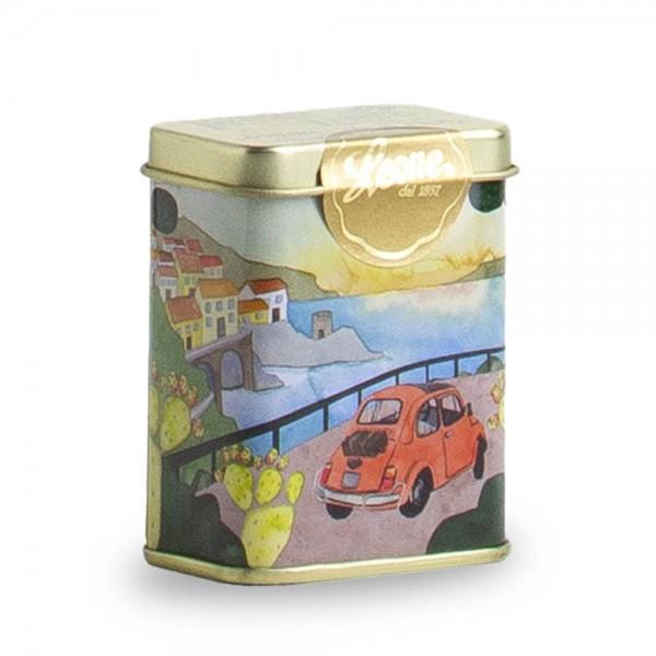 Leone Pastillen gemischte Zitrusfrüchte 30 g Pastiglie Amalfi Dose online kaufen bei Kaffee Rauscher