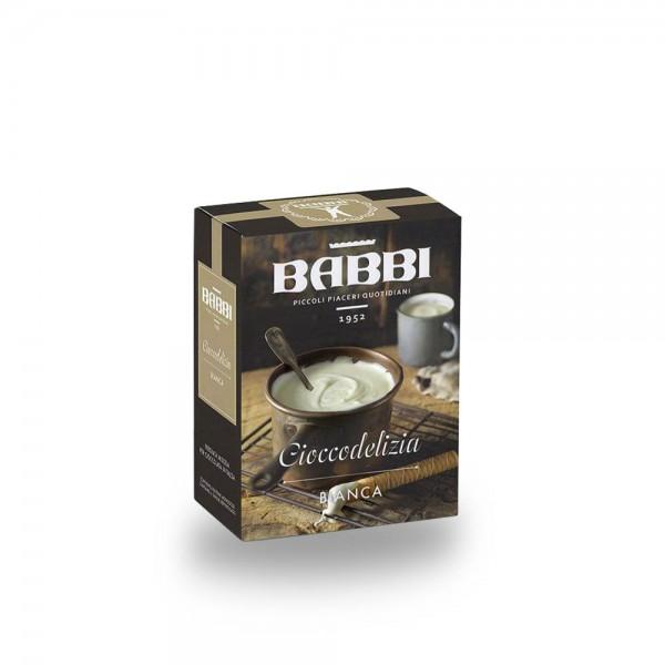 Babbi Cioccodelizia Bianca weißeTrinkschokolade 250 g online kaufen bei Kaffee Rauscher