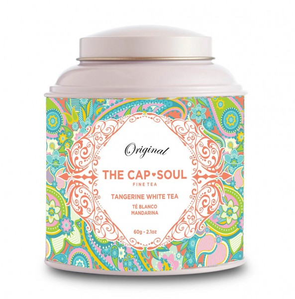 The CapSoul Tangerine White Tea - 60 g lose online kaufen bei Kaffee Rauscher