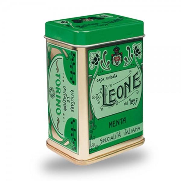 Leone Pastillen Minze 45 g Nostalgie Dose bei Kaffee Rauscher online kaufen