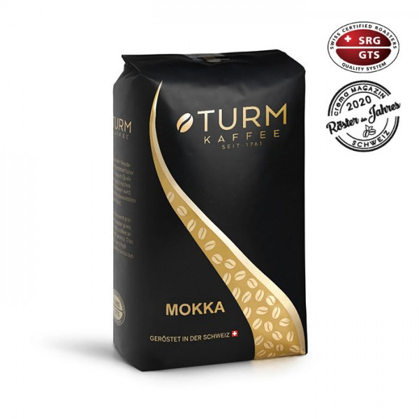 Turm Kaffee Mokka Espresso Schümli 1.000g Bohnen online kaufen
