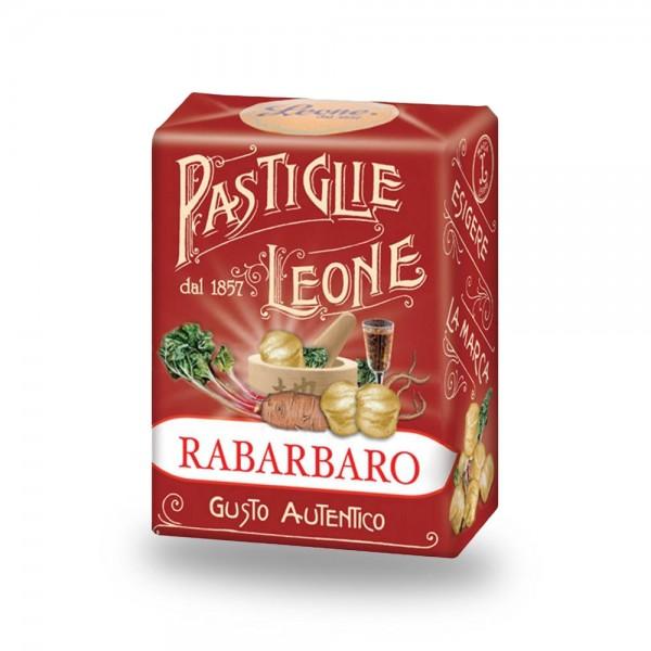 Leone Pastillen Rhabarber 30 g - Pastiglie Rabarbaro online kaufen bei Kaffee Rauscher