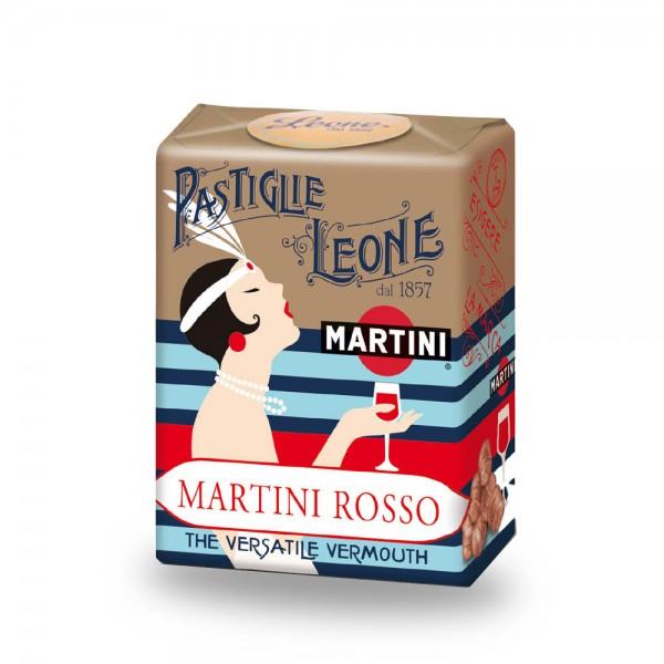Leone Pastillen Martini 30 g - Pastiglie Martini Rosso online kaufen bei Kaffee Rauscher