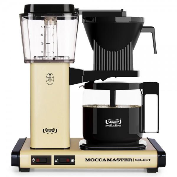 Moccamaster KBG Pastel Yellow Filterkaffeemaschine online kaufen bei Kaffee Rauscher
