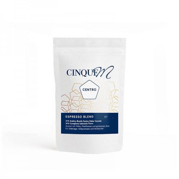 Cinque M Espresso Centro 250g Bohnen online kaufen