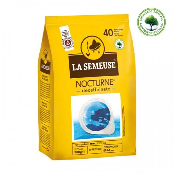 La Semeuse Nocturne entkoffeinierter Kaffee ESE Pads 40 Stk online kaufen bei Kaffee Rauscher