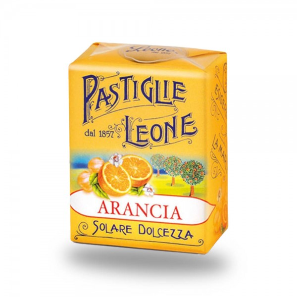 Leone Pastillen Orange 30 g - Pastiglie Arancia online kaufen bei Kaffee Rauscher