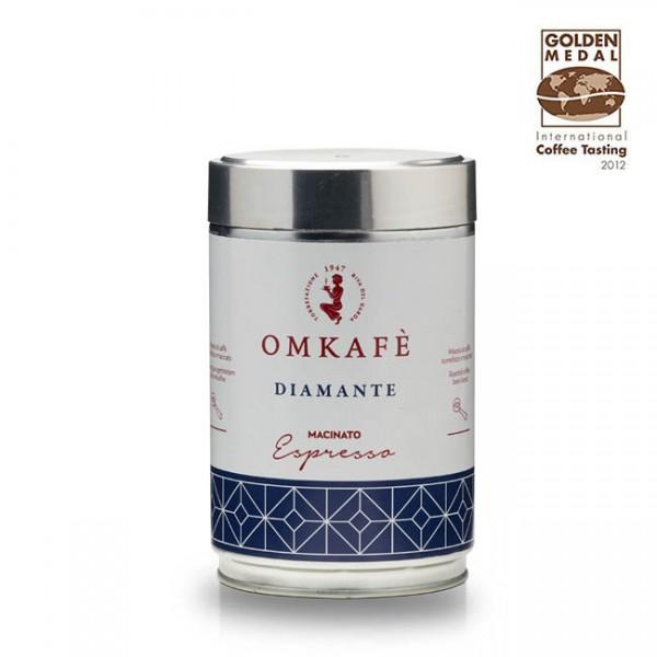 Omkafé Diamante 250g gemahlen für Espresso online kaufen bei Kaffee Rauscher